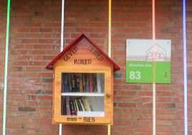 Buitenbibliotheek in Gein