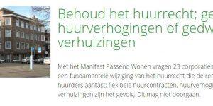 Petitie Behoud Huurrecht