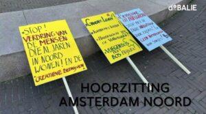 Amsterdam Noord hoorzitting
